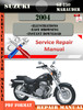 Thumbnail Suzuki GZ 250 Marauder 2004 Digital Service Repair Manual