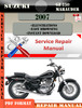 Thumbnail Suzuki GZ 250 Marauder 2007 Digital Service Repair Manual