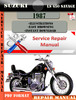 Thumbnail Suzuki LS 650 Savage 1987 Digital Service Repair Manual