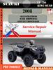 Thumbnail Suzuki LT 750 King Quad 2008 Digital Service Repair Manual