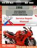 Thumbnail Suzuki RF 900 1998 Digital Factory Service Repair Manual