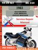 Thumbnail Suzuki RG 250 1983 Digital Factory Service Repair Manual