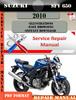 Thumbnail Suzuki SFV 650 2010 Digital Factory Service Repair Manual