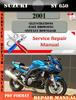 Thumbnail Suzuki SV 650 2001 Digital Factory Service Repair Manual
