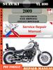 Thumbnail Suzuki VL 800 2009 Digital Factory Service Repair Manual