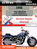 Thumbnail Suzuki VZ 800 Marauder 1998 Digital Service Repair Manual