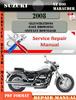 Thumbnail Suzuki VZ 800 Marauder 2008 Digital Service Repair Manual