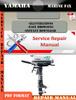 Thumbnail Yamaha Marine F4X Digital Repair Manual
