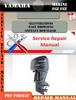 Thumbnail Yamaha Marine F6Z F8Z Digital Repair Manual