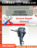 Thumbnail Yamaha Marine F15W Digital Service Manual