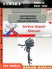 Thumbnail Yamaha Marine F25C T25C Digital Service Manual