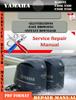 Thumbnail Yamaha Marine F300L F300 F350L F350 Digital Service Manual