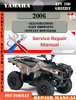 Thumbnail Yamaha ATV 700 Grizzly 2006 Digital Service Repair Manual