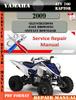 Thumbnail Yamaha ATV 700 Raptor 2009 Digital Service Repair Manual