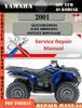 Thumbnail Yamaha ATV YFM 40 Kodiak 2001 Digital Service Repair Manual