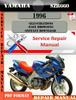 Thumbnail Yamaha SZR660 1996  Digital Factory Service Repair Manual