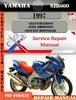 Thumbnail Yamaha SZR660 1997  Digital Factory Service Repair Manual