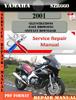 Thumbnail Yamaha SZR660 2001  Digital Factory Service Repair Manual