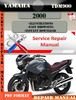 Thumbnail Yamaha TDM900 2000  Digital Factory Service Repair Manual