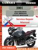 Thumbnail Yamaha TDM900 2001  Digital Factory Service Repair Manual