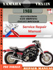 Thumbnail Yamaha VMX12N 1988 Digital Factory Service Repair Manual