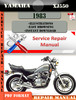 Thumbnail Yamaha XJ550 1983 Digital Service Repair Manual