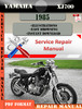 Thumbnail Yamaha XJ700 1985 Digital Service Repair Manual