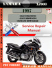 Thumbnail Yamaha XJ900 1997 Digital Service Repair Manual