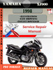 Thumbnail Yamaha XJ900 1998 Digital Service Repair Manual