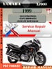 Thumbnail Yamaha XJ900 1999 Digital Service Repair Manual