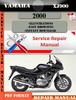Thumbnail Yamaha XJ900 2000 Digital Service Repair Manual