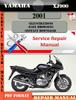 Thumbnail Yamaha XJ900 2001 Digital Service Repair Manual