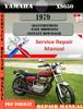 Thumbnail Yamaha XS650 1979 Digital Service Repair Manual