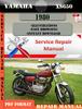 Thumbnail Yamaha XS650 1980 Digital Service Repair Manual
