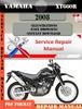 Thumbnail Yamaha XT660R 2008 Digital Service Repair Manual