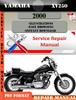 Thumbnail Yamaha XV250 2000 Digital Service Repair Manual