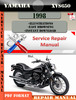 Thumbnail Yamaha XVS650 1998 Digital Service Repair Manual