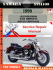 Thumbnail Yamaha XVS1100 1999 Digital Repair Manual