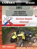 Thumbnail Yamaha YFZ350 1997 Digital Service Repair Manual