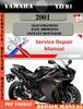 Thumbnail Yamaha YZFR1 2001 Digital Service Repair Manual
