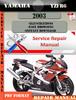 Thumbnail Yamaha YZFR6 2003 Digital Service Repair Manual