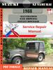 Thumbnail Suzuki Sj Samurai 1988 Digital Factory Service Repair Manual