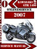 Thumbnail Kawasaki 1400 GTR 2007 Digital Repair Manual