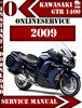 Thumbnail Kawasaki 1400 GTR 2009 Digital Service Repair Manual