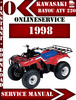 Thumbnail Kawasaki ATV 220 1998 Digital Service Repair Manual