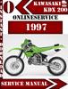 Thumbnail Kawasaki KDX 200 1997 Digital Service Repair Manual