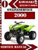 Thumbnail Kawasaki ATV KFX700 V-Force 2000 Digital Service Repair Manu