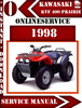 Thumbnail Kawasaki ATV KVF 400 Prairie 1998 Digital Service Repair Man
