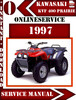 Thumbnail Kawasaki ATV KVF 400 Prairie 1997 Digital Service Repair Man