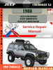 Thumbnail Jeep Cherokee XJ 1988 Digital Service Repair Manual